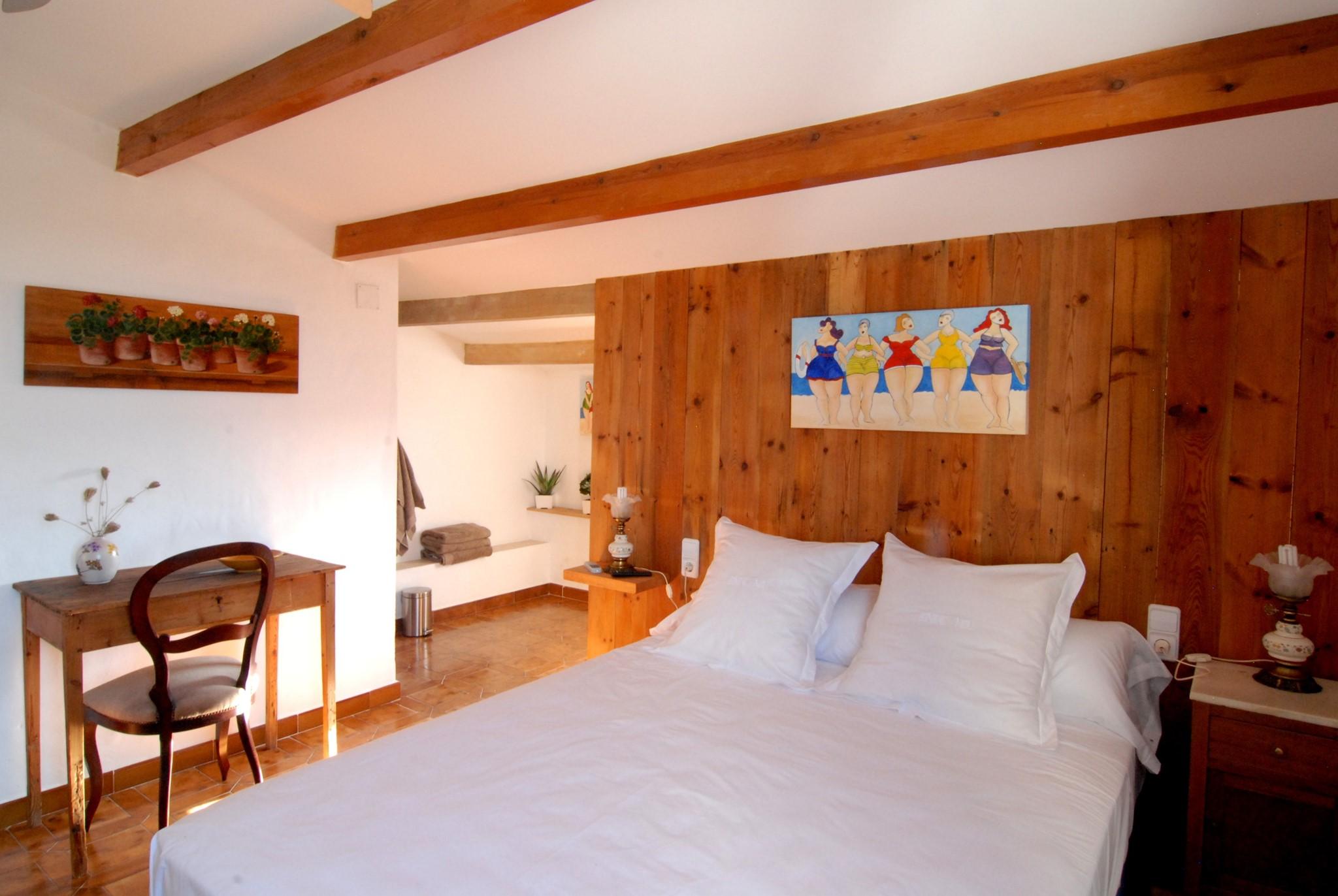 Habitaci N Doble En Menorca Con Wifi En Agroturismo Biniai Nou ~ Habitaciones Dobles Para  Ninos